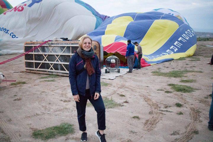Vlog: Heißluftballonfahren in Kappadokien