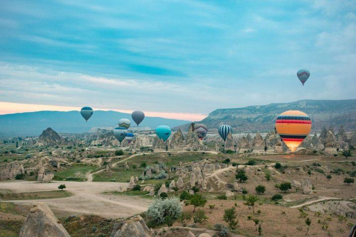 Mein Abenteuer: mit dem Heißluftballon über Kappadokien fahren