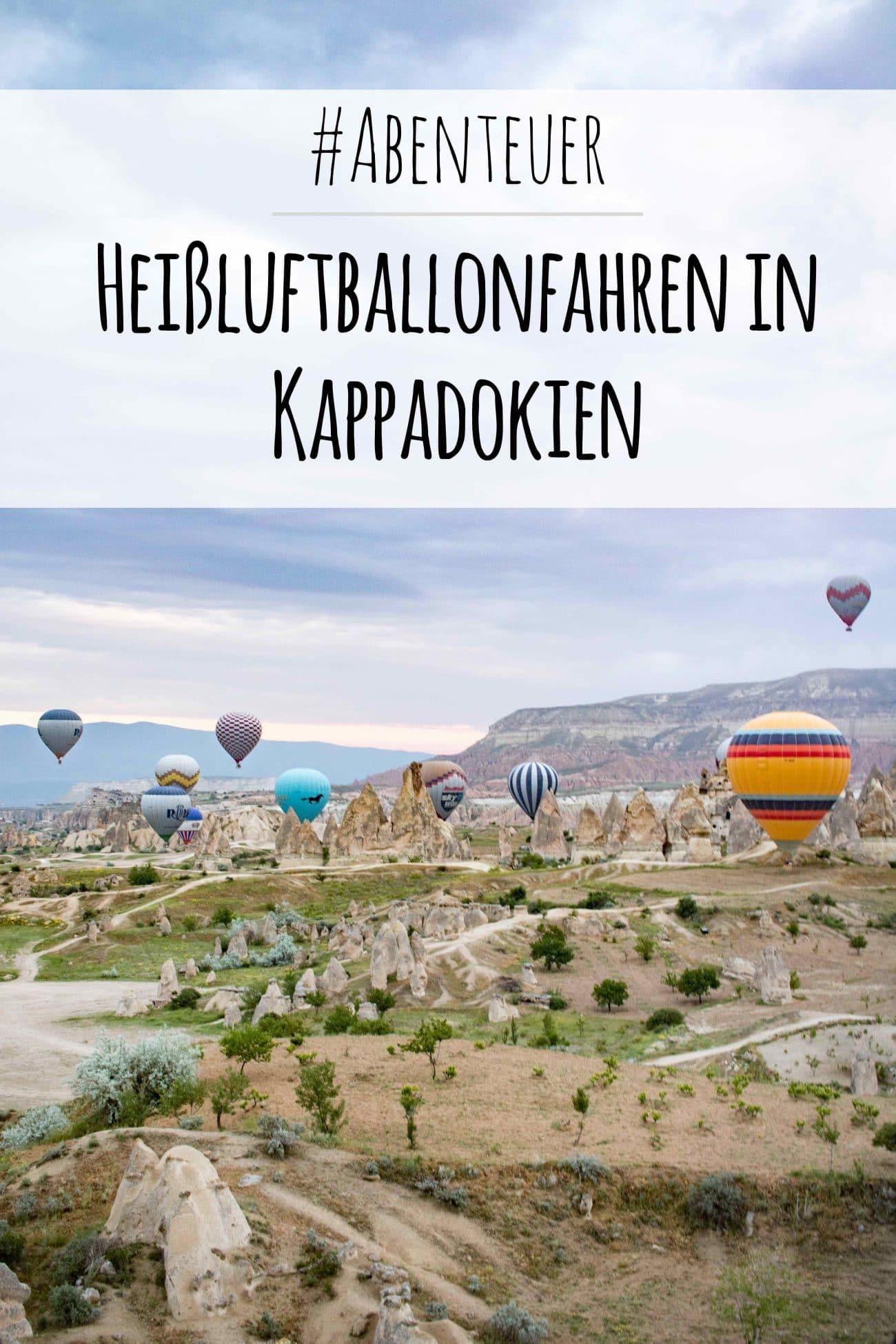 PASSENGER X in Kappadokien Ballonflug