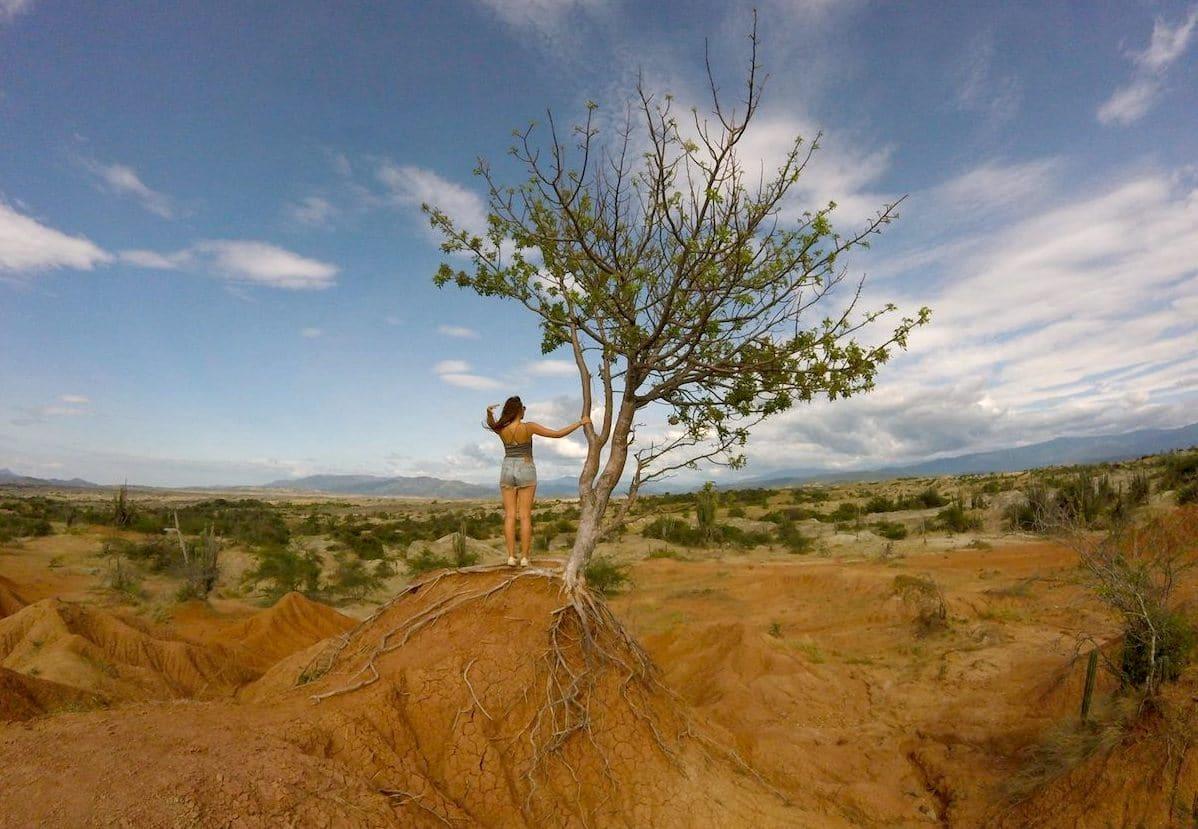 Sehenswürdigkeiten Südameria Kolumbien Tatacoa Wüste