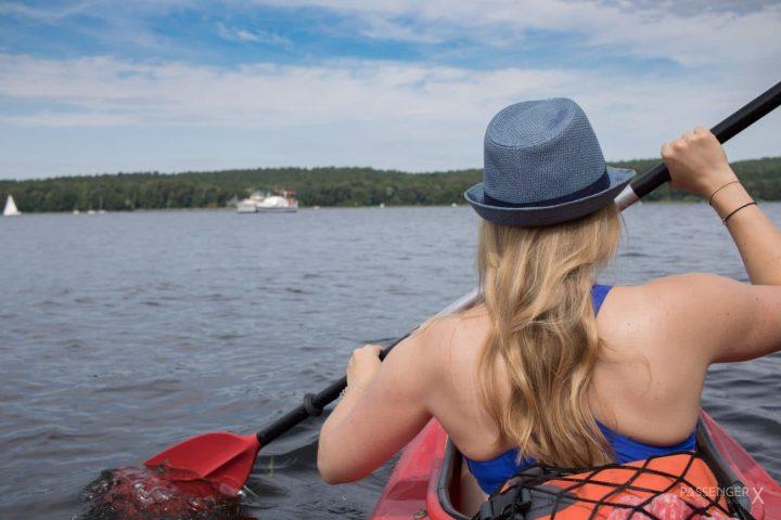 Ab ins Umland: Kajak Abentuer auf den Potsdamer Seen