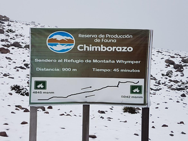 Chimborazo Pfad