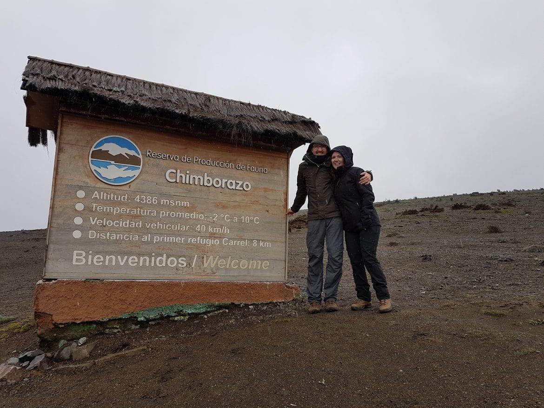 Einstieg Chimborazo