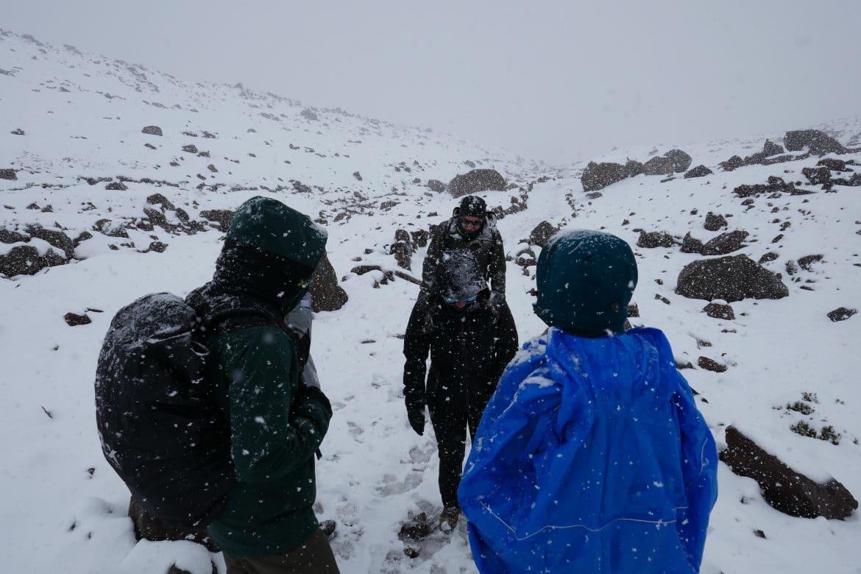 Sehenswürdigkeiten Ecuador Rundreise_Schneegestöber Chimborazo