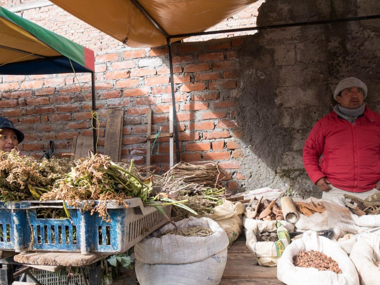 Sehenswürdigkeiten Ecuador - Guamote Wochenmarkt