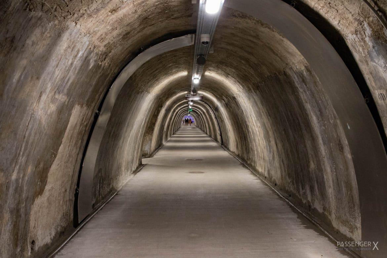 Tipp für ein Wochenende in Zagreb: ein bisschen gruselig und zeitgleich faszinierend - der Gric Tunnel.