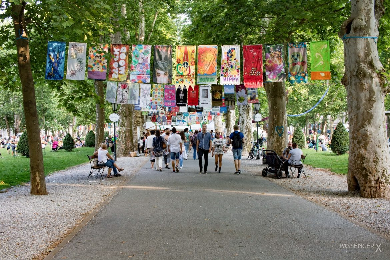 PASSENGER X verrät dir die besten Tipps für ein Wochenende in Zagreb. Mit dabei der Ort zum verlieben: der Josipa Jurja Strossmayera Park.
