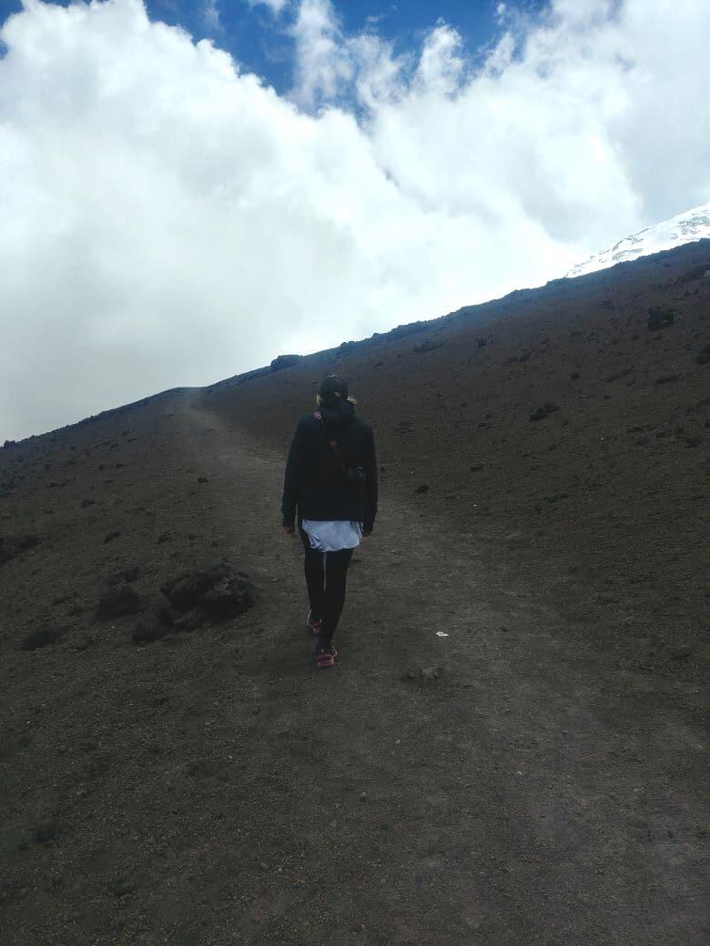 Nationalpark Cotopaxi Vulkan Wanderung