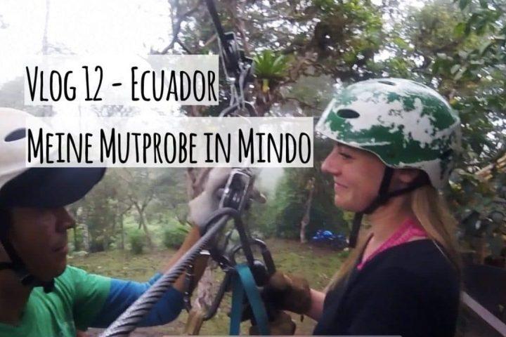 Neuer Vlog: Meine Mutprobe beim Ziplining in Mindo (Ecuador)