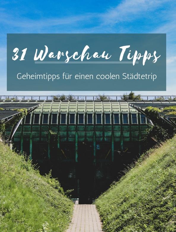 31 verdammt coole Warschau Tipps hat PASSENGER X für dich auf Lager.