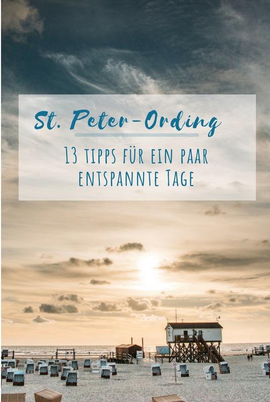 13 St. Peter-Ording Tipps für ein paar entspannte Tage