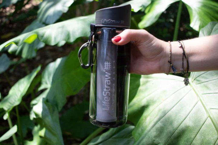 Gewinne eine LifeStraw Go und reise plastikfrei dank sauberem Wasser (**Werbung)