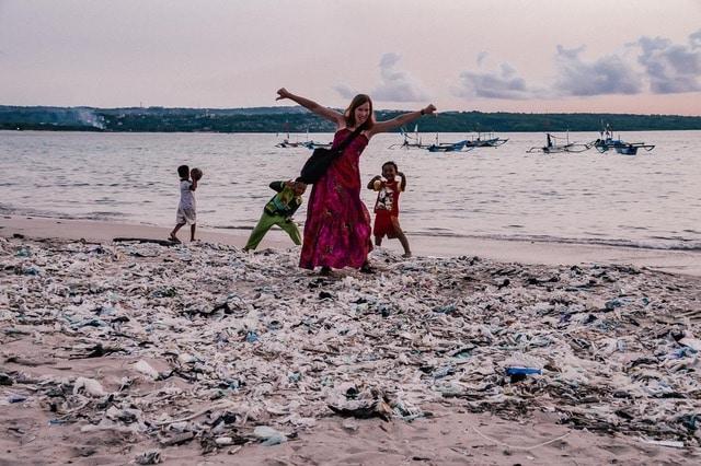 Müllkatastrophe auf Bali - Blogger erzählen