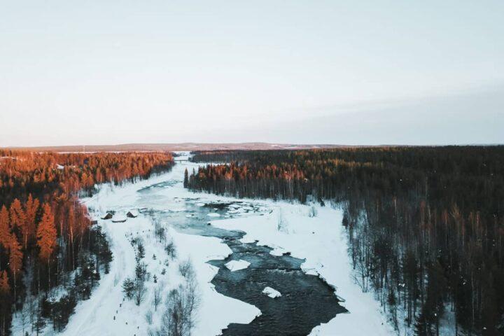 Meine Lappland Finnland Winter Highlights: von Husky Abenteuern und Glasiglus