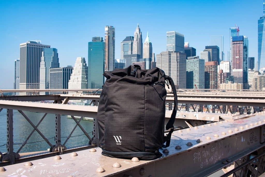 Nachhaltiger Rucksack von Wayks Berlin - Packliste New York