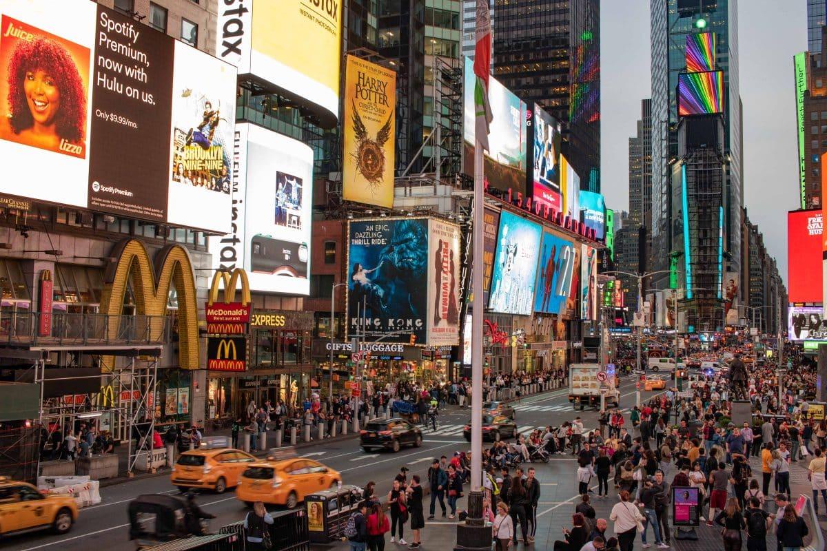 Times Square - Sehenswürdigkeiten für 5 Tage New York