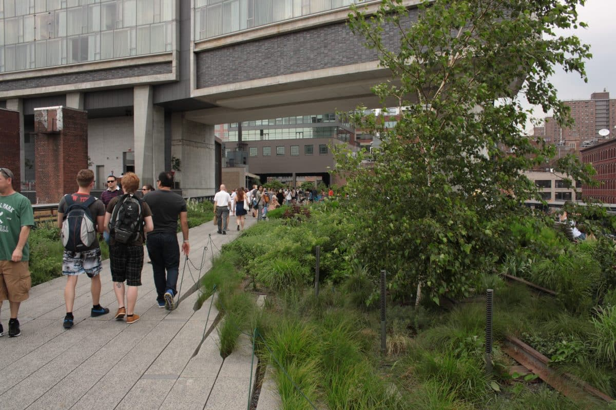 5 Tage New York Insider Tipps: Highline Park