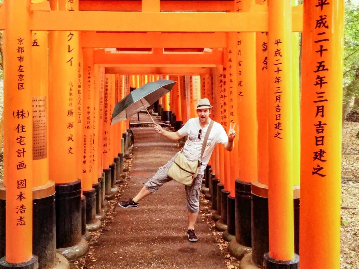 Henrik in Japan