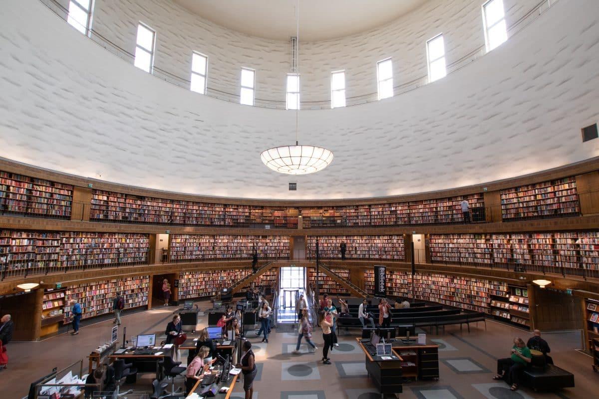 37 Insider Tipps für Stockholm - die öffentliche Bücherei
