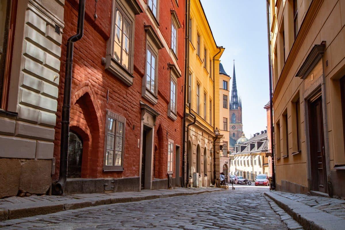 37 Insider Tipps für Stockholm - die schönsten Altstadtgasssen