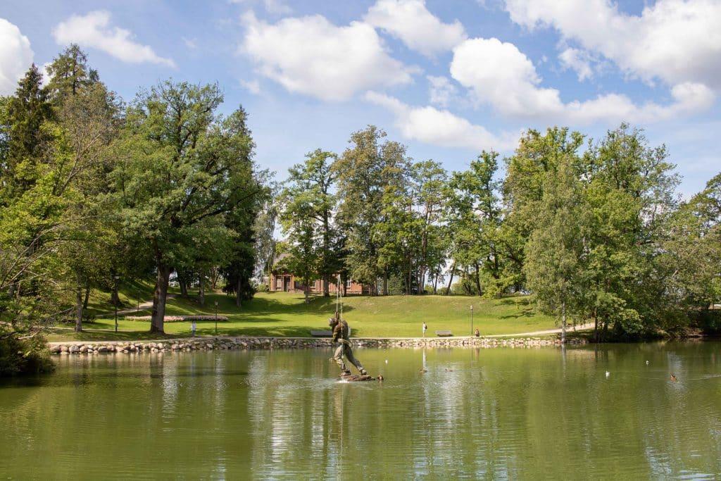 Nationalpark Gauja per Road Trip - Altstadt Cesis -Artikel von PASSENGER X