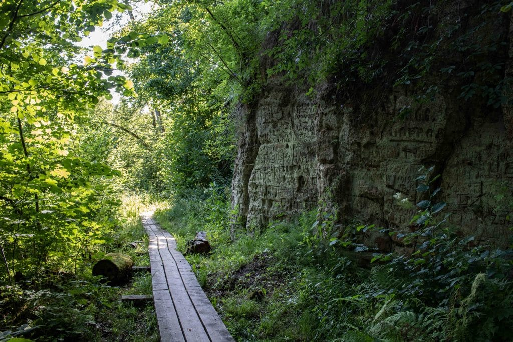 Lettland Sehenswürdigkeiten - Nationalpark Gauja - E Bike Tour Sigulda