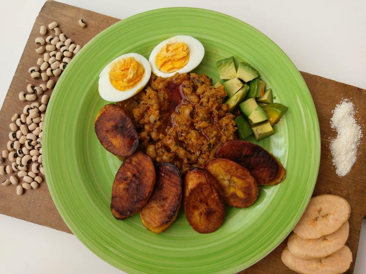 Rezept Gari und Bohnen aus Ghana - Reiserezepte von PASSENGER X
