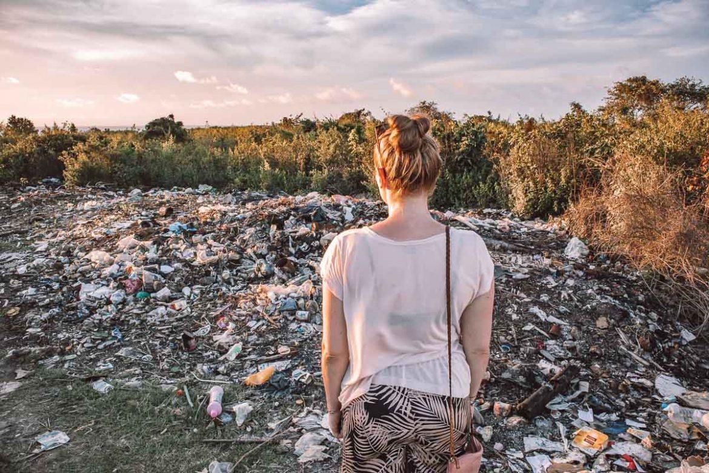 Müllproblem Sansibar - Reisebloggerin PASSENGER X ist erschrocken