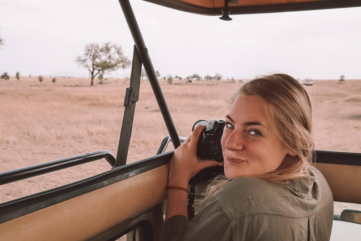 Kameraausrüstung für eine Safari - PASSENGER X