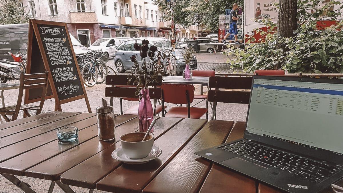 Café in Friedrichshain mit gutem WLAN: das Homemade