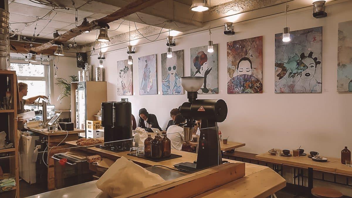 Kostenloses WLAN Café Berlin: Oslo Kaffeebar