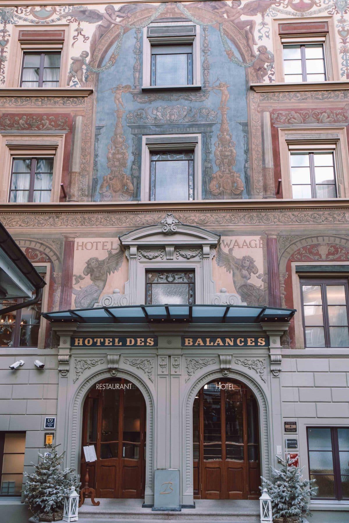 Hotel des Balances in Luzern - PASSENGER X