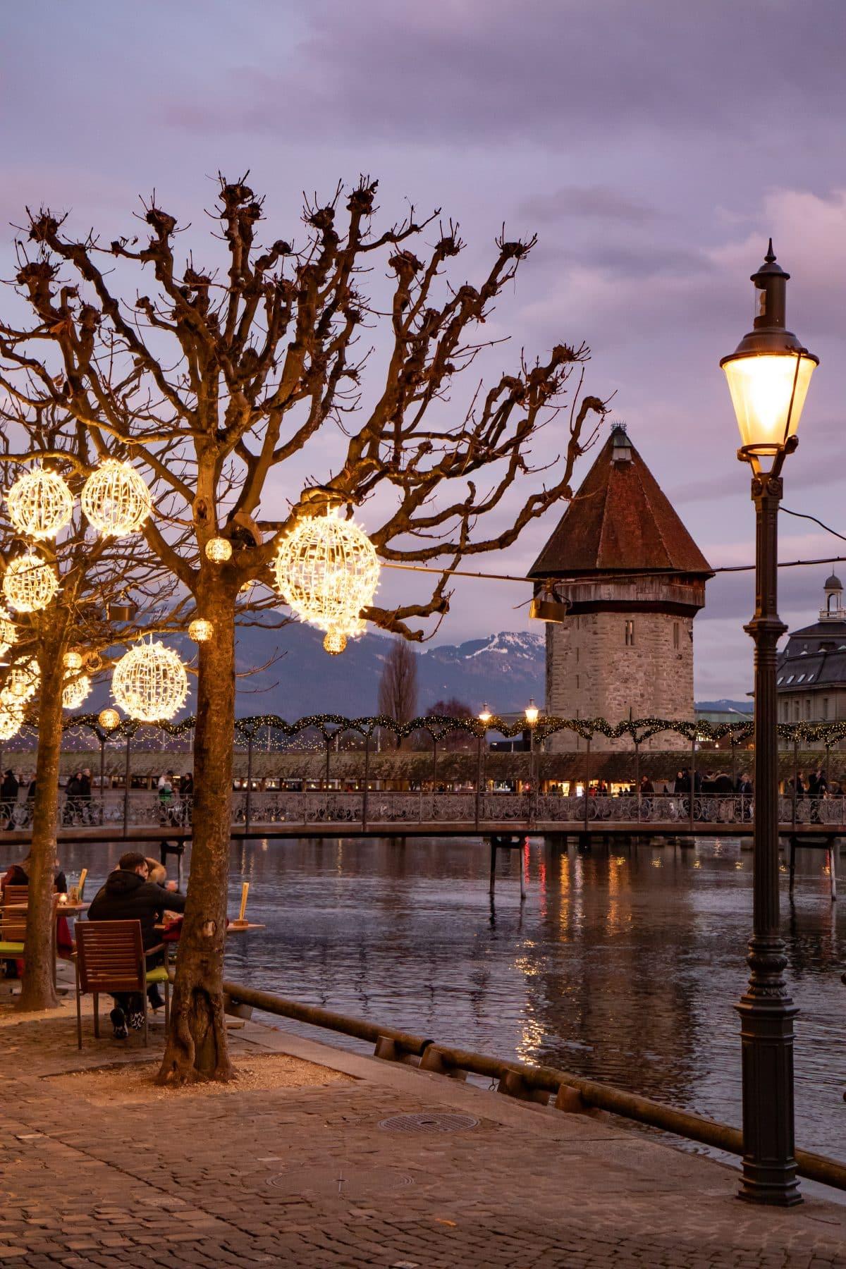 Luzern zu Weihnachten Foto von PASSENGER X