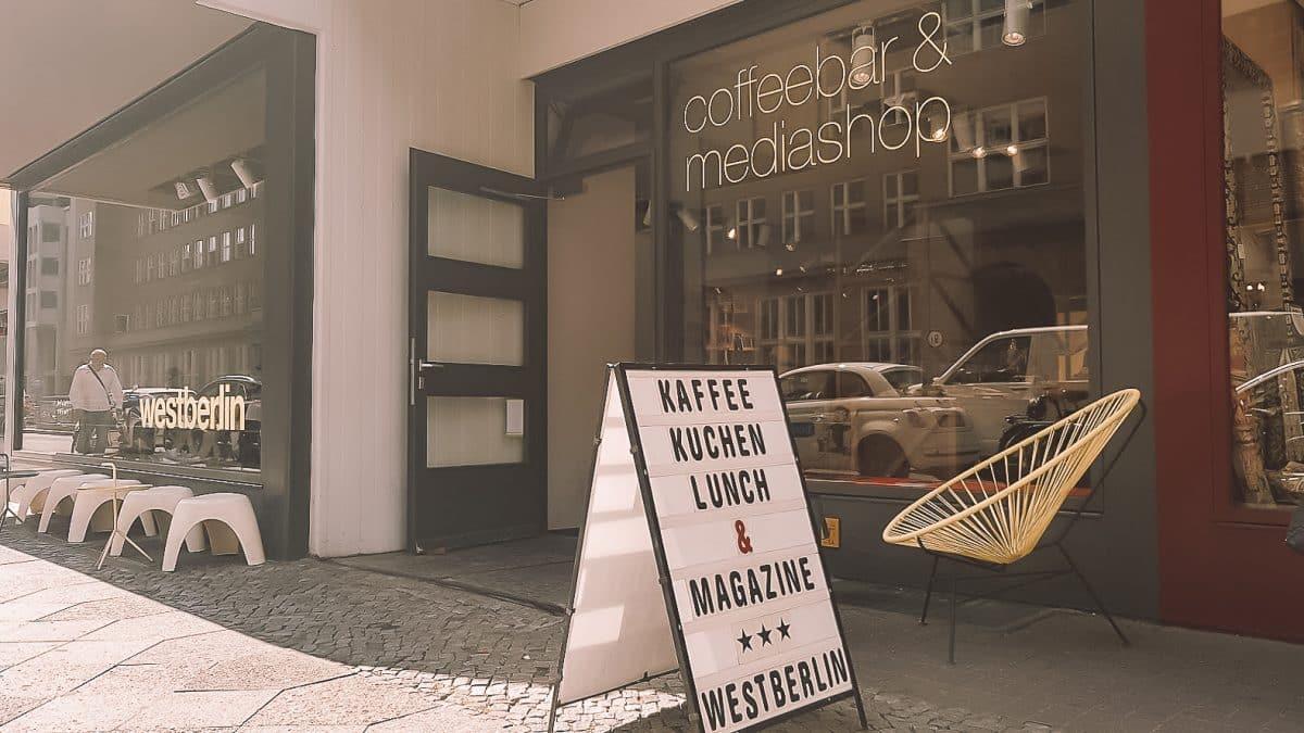 Café mit kostenlosem Wlan in Berlin - Westberlin