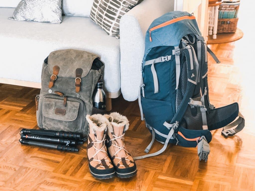 Packliste - Reiseausrüstung Rucksäcke