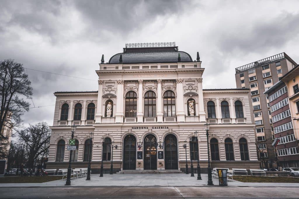 Ljubljana Geheimtipps von Reiseblog PASSENGER X für ein Ljubljana Urlaub - Nationalgallerie
