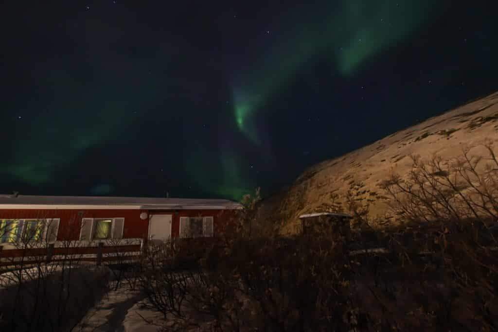 Nordlichter in Grönland - in Kangerlussuaq ist mein Traum wahr geworden. Foto: Nicole Bittger, Reiseblog PASSENGER X