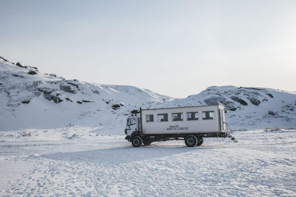 Wintertouren in Kangerlussuaq: Unterwegs auf dem ewigen Eis Grönlands