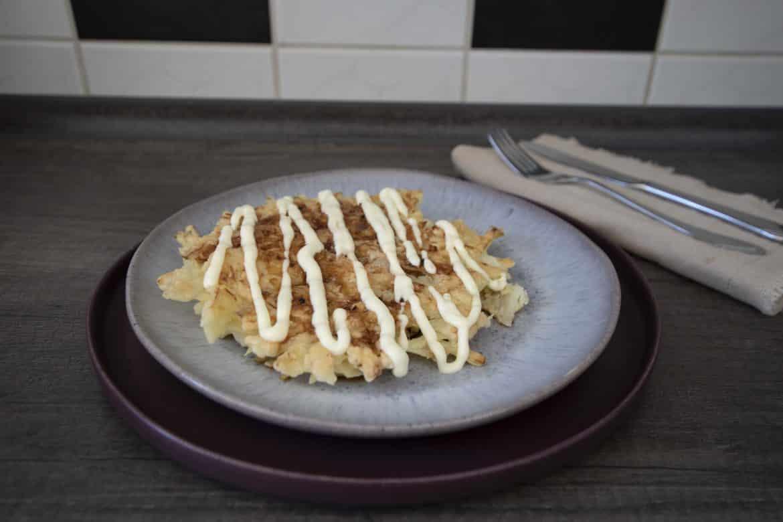 Rezept Vegetarische Okonomiyaki