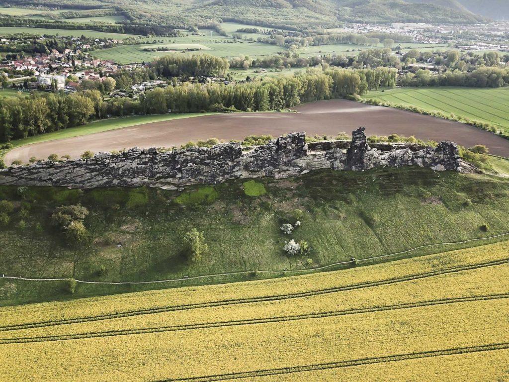 Harz Sehenswürdigkeit - die Teufelsmauer