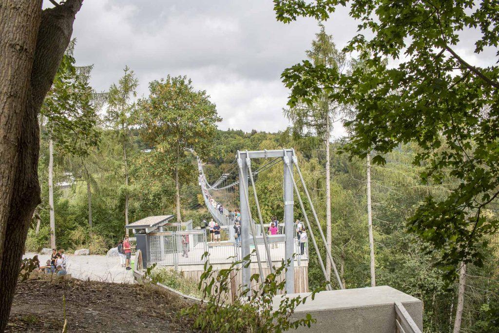 Harz Sehenswürdigkeiten: die längste Hängebrücke der Welt, Titan RT