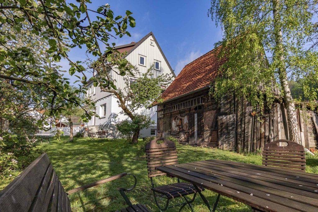 Das schönste Ferienhaus im Harz, Bad Sachsa - Ferienhaus zum Kirschgarten
