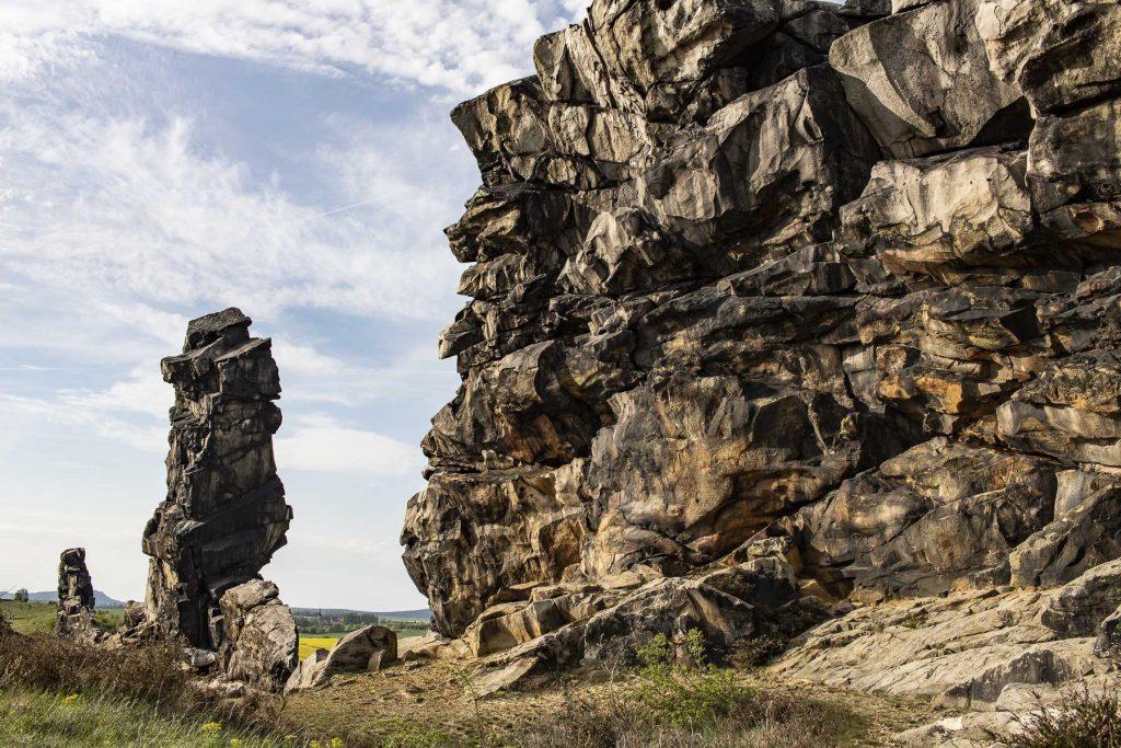 Harz Sehenswürdigkeiten - die Teufelsmauer