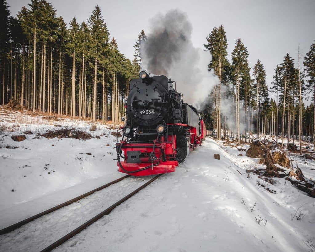 Harz Sehenswürdigkeit: Die Brockenbahn