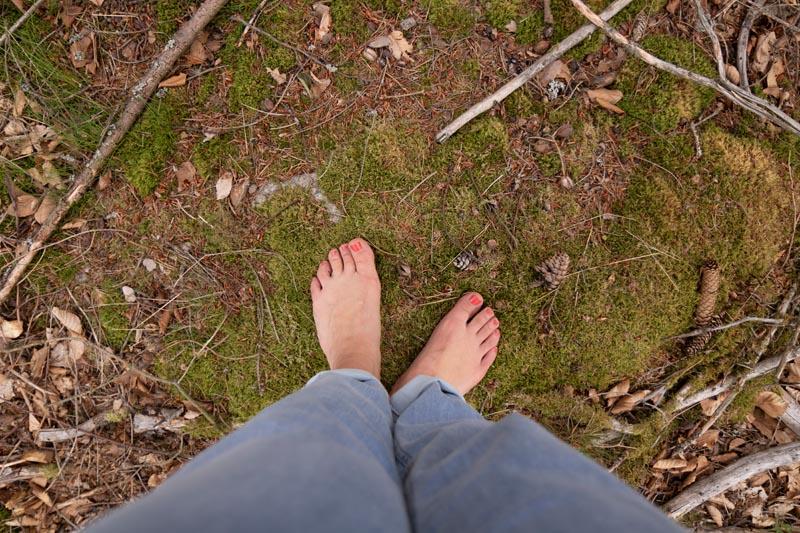 Waldbaden im Fichtelgebirge - Reiseblog Tipp zum Entspannen während deiner Deutschlandreise
