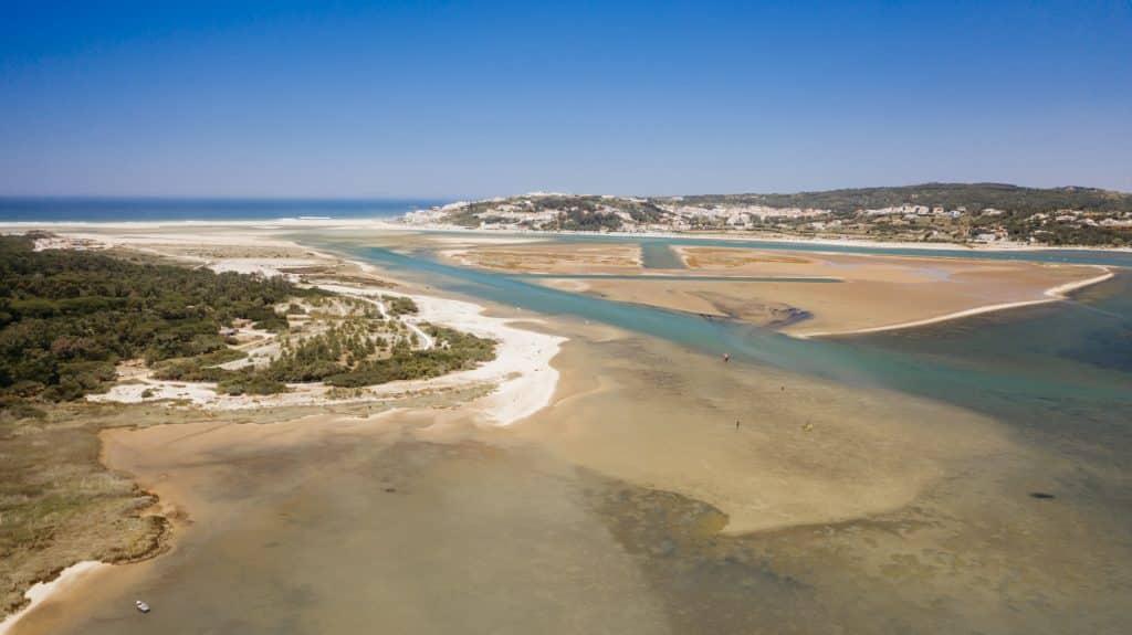 Wildcampen Portugal - Lagune von Obidos