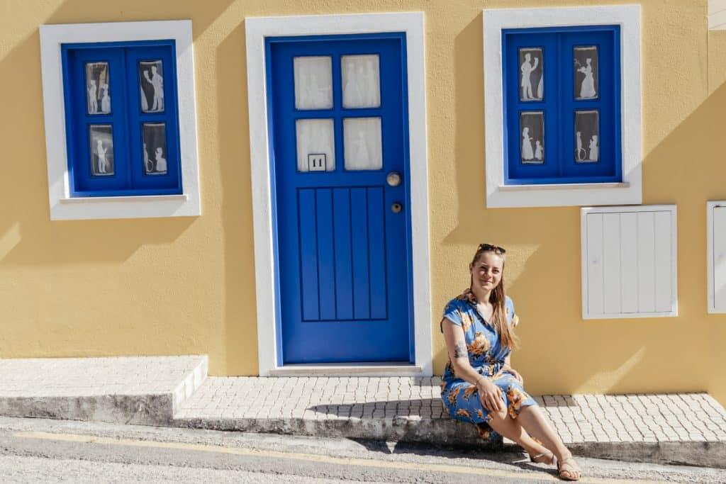 PASSENGER X _Nicole Bittger_ in Costa Nova_Portugal auf Road Trip
