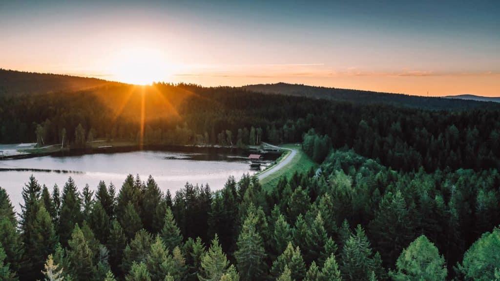 Fichtelgebirge Geheimtipp: Fichtelsee zum Sonnenaufgang