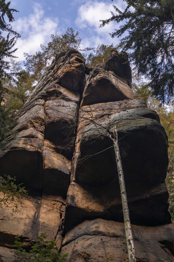 Wandern im Elbsandsteingebirge: unterwegs auf dem Malerweg_Schrammsteine_PASSENGER X