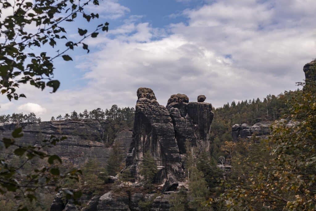 Wandern im Elbsandsteingebirge: unterwegs auf dem Malerweg_Sächsische Schweiz_Schrammsteine_PASSENGER X